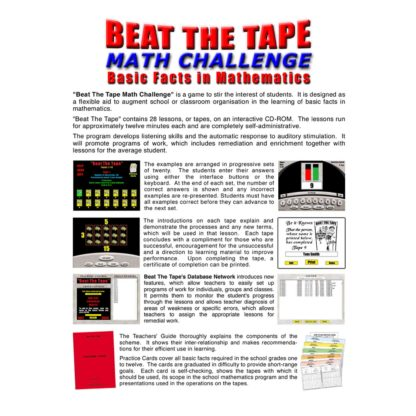 Beat the Tape Math Challenge: About this Program