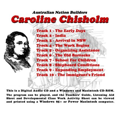 Australian Nation Builders: Caroline Chisholm