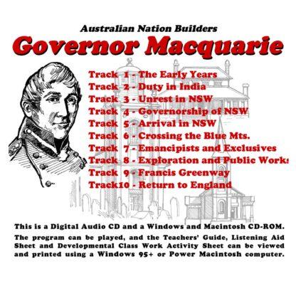 Australian Nation Builders: Governor Macquarie