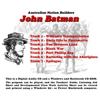 Australian Nation Builders: John Batman