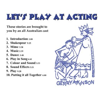 Lets Play at Acting cover