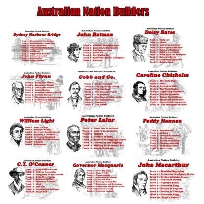 Australian Nation Builders: All Volumes