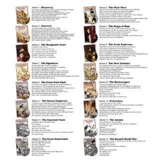Story of Australia Program list