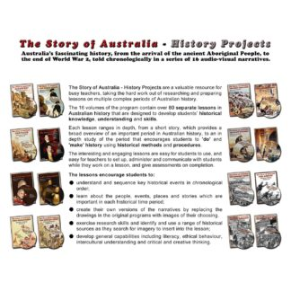 The Story of Australia - History Projects
