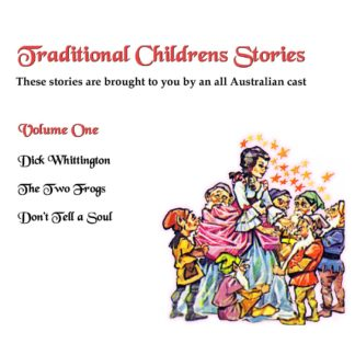 Traditional Childrens Stories Volume One Cover