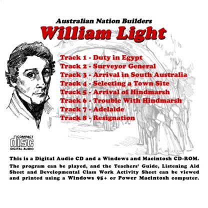 Australian Nation Builders: William Light